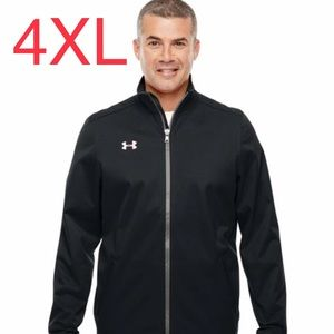 NWT Under Armour Mens Cold Gear Black Jacket 4XL